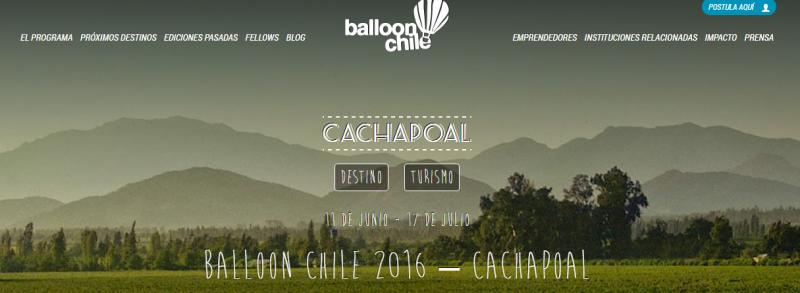balloon chile cachapoal