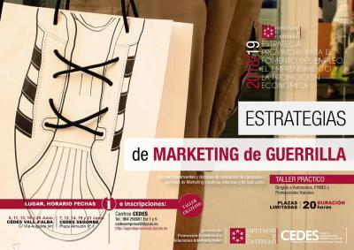 Curso: Estrategias de marketing de guerrillas, 20 horas