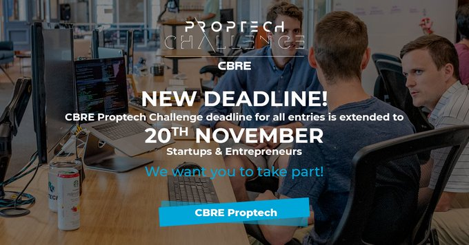 Convocatoria  PropTech Challenge  2019