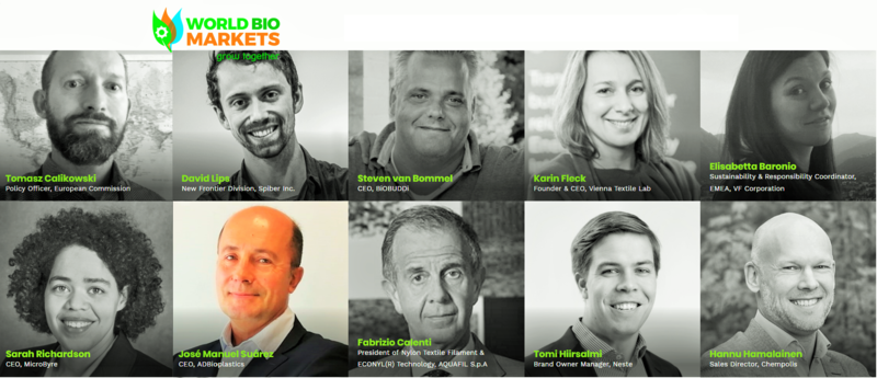 ADBioplastics dará un pitch en la Bio-Stars session de la World Bio Markets junto L´Oréal, Basf or Dupont